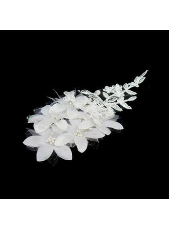 "Headbands Wedding/Special Occasion Lace/Satin 5.91""(Approx.15cm) 1.97""(Approx.5cm) Headpieces"