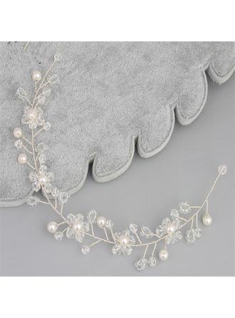 Glamourös Kristall/Faux-Perlen Stirnbänder (In Einem Stück Verkauft)