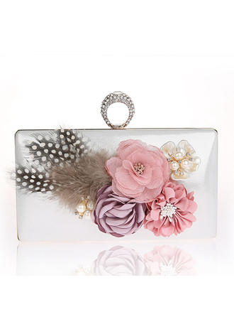 Clutches Wedding/Ceremony & Party PVC Snap Closure Delicate Clutches & Evening Bags