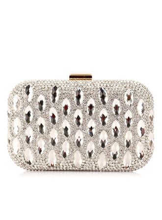 Clutches Wedding/Ceremony & Party PU Clip Closure Gorgeous Clutches & Evening Bags