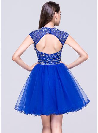 chiffon short homecoming dresses
