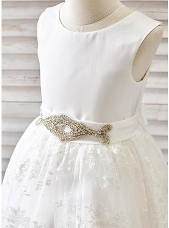 champagne flower girl dresses for wedding