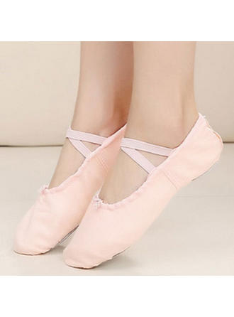 Women's Ballet Flats Pumps Cloth Dance Shoes