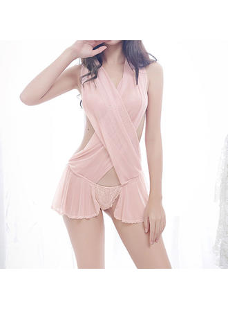Sleepwear Wedding/Special Occasion Bridal/Feminine Tulle Sexy Lingerie (041193591)