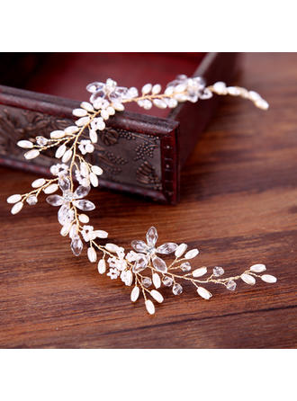 "Headbands Wedding/Special Occasion/Party/Art photography Alloy/Imitation Pearls 11.8""(Approx.30cm) 1.77""(Approx.4.5cm) Headpieces"