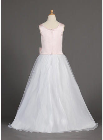 one shoulder flower girl dresses