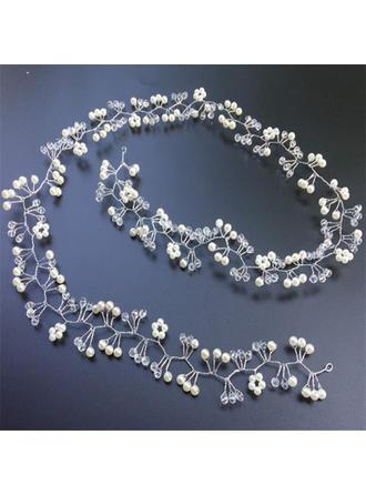 Beau Cristal/De faux pearl Bandeaux (Vendu dans une seule pièce)