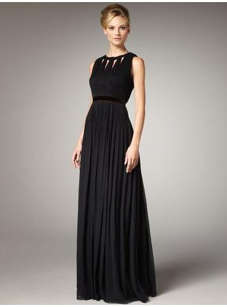 High Neck Floor-Length Mother of the Bride Dresses