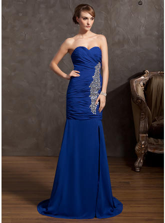 evening dresses for plus size women over 50