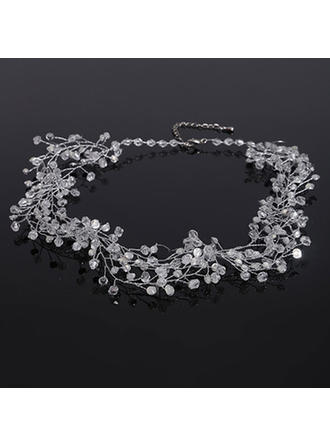 Necklaces Rhinestones Rhinestone Lobster Clasp Ladies' Wedding & Party Jewelry