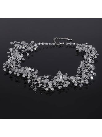 Elegante Diamantes de imitación con Rhinestone Señoras' Collares