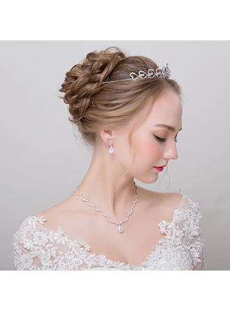 "Jewelry Sets Alloy/Rhinestones Ladies' Classic 17.72""(Approx.45cm) Wedding & Party Jewelry"