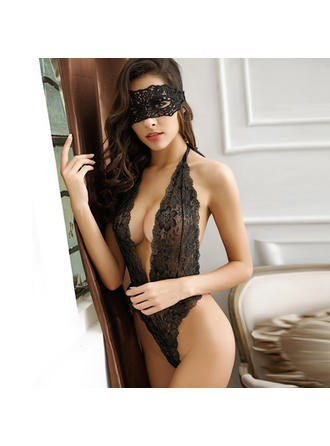 Casual/Wedding/Special Occasion Bridal/Feminine/Fashion Lace/Nylon Sexy Lingerie
