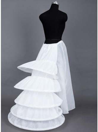 Bustle Floor-length Taffeta Ball Gown Slip/Full Gown Slip 1 Tiers Petticoats