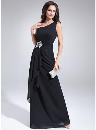 A-Line/Princess One-Shoulder Chiffon Sexy Mother of the Bride Dresses