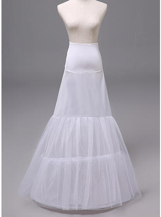 Petticoats Polyester Mermaid and Trumpet Gown Slip Wedding Women Petticoats