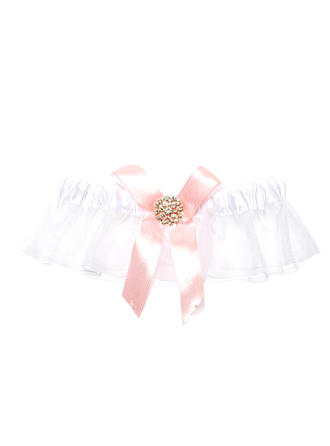 Garters Women Wedding/Special Occasion Organza With Rhinestone Garter