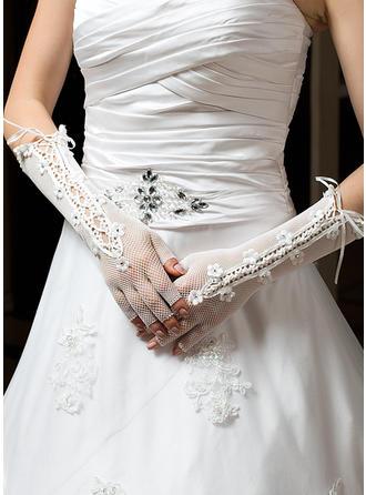 Tulle Ladies' Gloves Elbow Length Party/Fashion Gloves/Bridal Gloves Half Finger Gloves