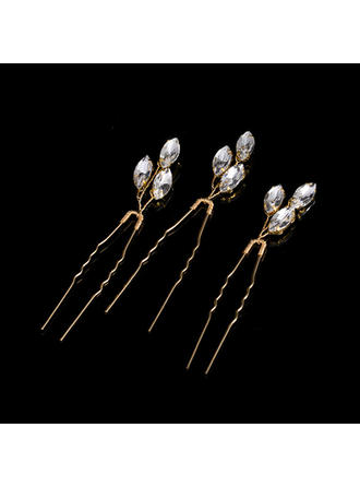 Hairpins Wedding/Party Rhinestone/Alloy Beautiful Ladies Headpieces