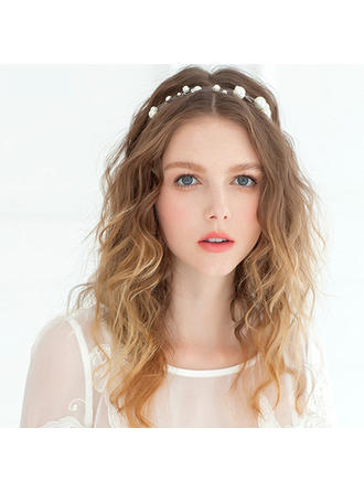 "Headbands Wedding/Special Occasion/Casual/Outdoor/Party Imitation Pearls 12.60""(Approx.32cm) 1.18""(Approx.3cm) Headpieces"