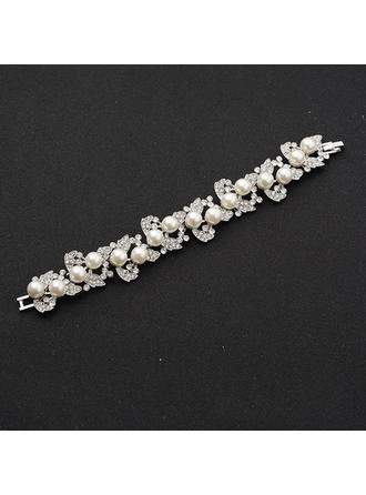 "Bracelets Alloy/Rhinestones Ladies' Fashional 0.78""(Approx.2cm) Wedding & Party Jewelry"
