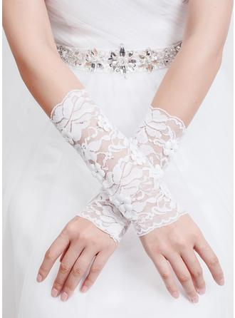 Tulle/Lace Ladies' Gloves Elbow Length Bridal Gloves Fingerless Gloves