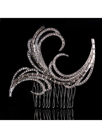 "Combs & Barrettes Wedding/Special Occasion Alloy 3.35""(Approx.8.5cm) 3.35""(Approx.8.5cm) Headpieces"