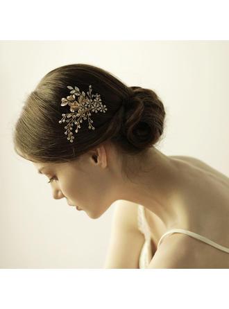 جميل أشابة أمشاط الشعر مع حجر الراين