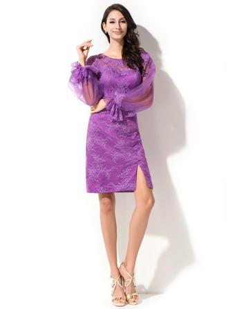 asymmetrical plus size cocktail dresses