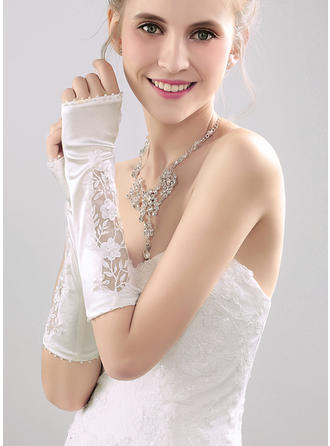 Nylon Ladies' Gloves Elbow Length Bridal Gloves Nylon Gloves