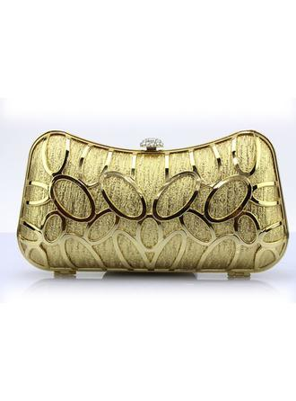 Clutches/Wristlets Wedding/Ceremony & Party/Casual & Shopping PU Clip Closure Fashional Clutches & Evening Bags