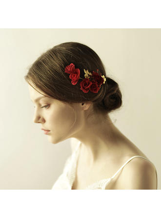 "Hairpins Wedding/Special Occasion/Party/Art photography Alloy 5.12""(Approx.13cm) 2.37""(Approx.6cm) Headpieces"