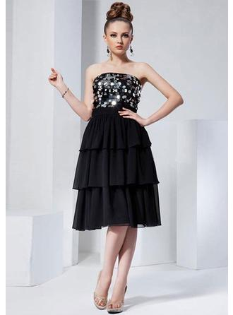 Knee-Length Homecoming Dresses