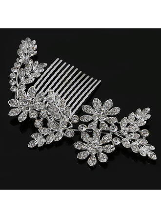 "Combs & Barrettes Wedding/Special Occasion/Party Rhinestone/Alloy 6.69""(Approx.17cm) 6.89""(Approx.17.5cm) Headpieces"
