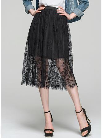 2019 New A-Line/Princess General Plus Lace Cocktail Dresses