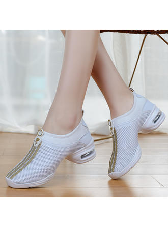 Women's Sneakers Sneakers Fabric Dance Shoes