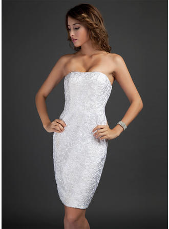 Sheath/Column Elegant Lace General Plus Cocktail Dresses