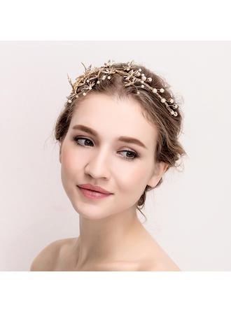 "Tiaras Wedding/Special Occasion Rhinestone/Alloy 14.17""(Approx.36cm) 3.54""(Approx.9cm) Headpieces"
