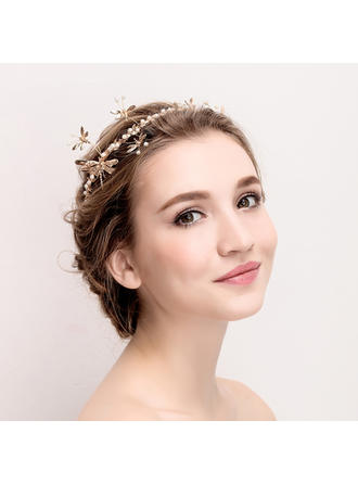 "Tiaras Wedding/Special Occasion Rhinestone/Alloy 14.17""(Approx.36cm) 3.15""(Approx.8cm) Headpieces"