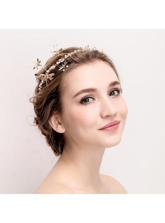 "Tiaras Wedding/Special Occasion Rhinestone/Alloy 14.17""(Approx.36cm) 3.15""(Approx.8cm) Headpieces"