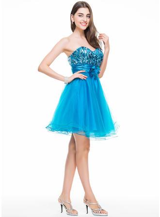 chiffon long sleeve homecoming dresses