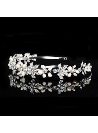 Tiaras Wedding/Special Occasion/Party Rhinestone/Alloy/Imitation Pearls Beautiful Ladies Headpieces