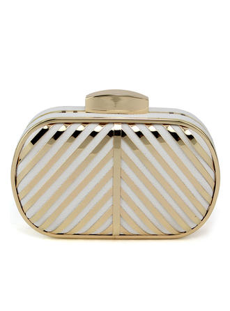 Clutches Wedding/Ceremony & Party PU Clip Closure Fashional Clutches & Evening Bags
