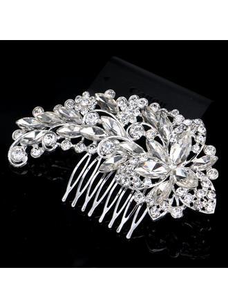 Combs & Barrettes Wedding Rhinestone/Alloy Beautiful Ladies Headpieces