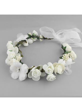 Headbands Wedding Silk Flower Lovely (Sold in single piece) Headpieces