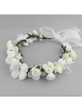 Stirnbänder Hochzeit Seide Blumen Schön (In Einem Stück Verkauft) Kopfschmuck
