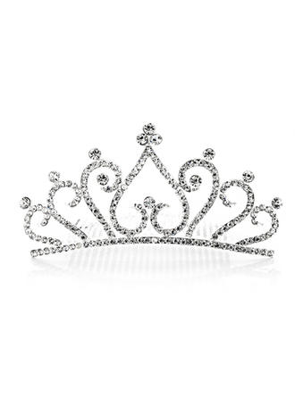 "Tiaras Wedding/Special Occasion/Party Rhinestone/Alloy 4.72""(Approx.12cm) 2.17""(Approx.5.5cm) Headpieces"
