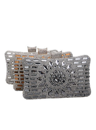 "Clutches/Satchel Wedding/Ceremony & Party Alloy Elegant 7.87""(Approx.20cm) Clutches & Evening Bags"