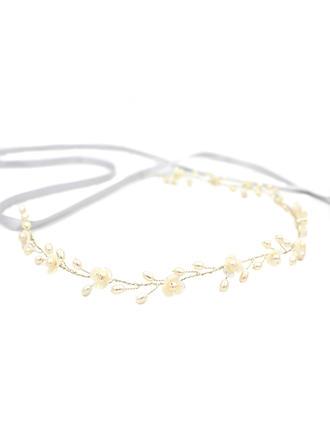 Élégante Alliage/Perles d'eau douce Bandeaux (Vendu dans une seule pièce)