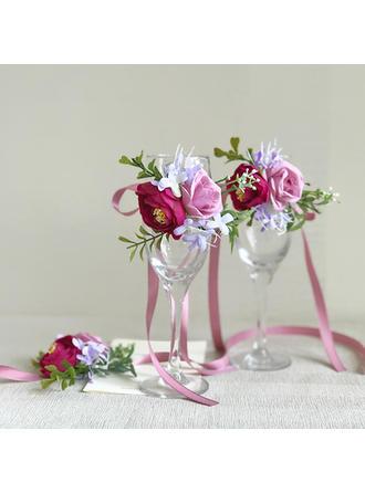 Dekorationen Freigeformt Hochzeit/Party/Lässige Kleidung (Sold in a single piece) Brautstrauß